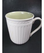 3 Mikasa Italian Sage Coffee Mug/s Cups Green White Bundle of 3 - $19.39
