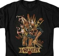 DC Comics Larfleeze Green Lantern Corps retro comics graphic black t-shirt GL317 image 2