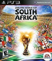 2010 FIFA World Cup South Africa Playstation 3 PS3 Video Game Complete tested - $7.91