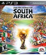 2010 FIFA World Cup South Africa Playstation 3 PS3 Video Game Complete t... - $7.91