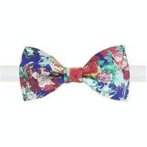 Stylish Design Bow Tie Peony Pattern Men Ties Neckties Boys Bow Ties Tie Clip