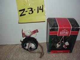 Hallmark TREAD BEAR Keepsake Ornament 1992 - $9.99