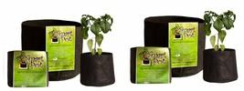 """10 Gallon Smart Pot 38""""x20""""- 2 Pack - $34.71"""