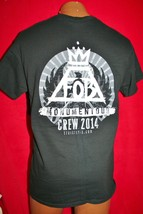 Fall Out Boy 2014 Momentour Concert Tour Staff Only T-SHIRT M Pyro Very Rare - $42.56