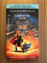 Endless Quest #27 - Lair of the Lich - 1st Print - Mar 1985 Collector Grade CYOA - $45.63