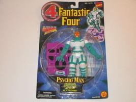 Biz Toys 1996 Fantastic Four Marvel Phycho Man Action Figure NEW - $11.99