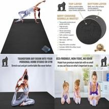 Premium Large Yoga Mat - 7' x 5' x 8mm Extra Thick, Ultra Comfortable,... - $166.85