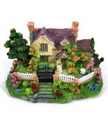 1Pcs Mini Resin House Miniature House Fairy Garden Micro Landscape Home ... - $8.90