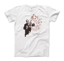 Louis Armstrong (Satchmo) Playing Trumpet T-Shirt - $19.75+