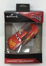 Hallmark Disney Pixar Cars 3 - Lightning McQueen Christmas Tree Ornament 2017 - $12.99