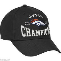 DENVER BRONCOS NFL 2011 AFC WEST DIVISION CONFERENCE CHAMPIONS FOOTBALL ... - £12.82 GBP