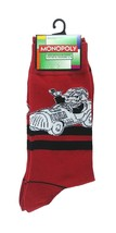 Monopoly Socks sz M/L Medium/Large (6-12) Red - $17.99
