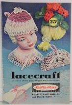 Lacecraft with Lustro-Ware Plastic Lace Doilies and Place Mats - $5.99