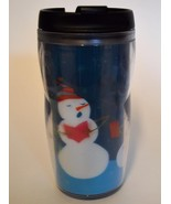 2006 STARBUCKS Holiday Snowman ~ Kids Travel Tumbler Cup Mug 8 oz. - $14.95