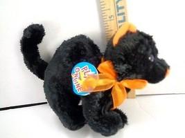 "TY Beanie Baby 2.0 Scaredy Halloween Black Orange Cat 8"" Long x 4 1/2"" T... - $10.88"