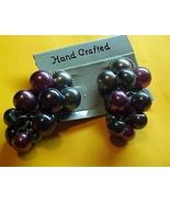 Ear Rings - Grapes- Pierced Ears - $3.00