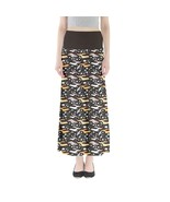 Women's Cartoon Dachshunds Print Elastic Full Length Maxi Skirt (XS-3XL,... - $28.99+