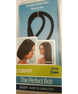 Conair The Perfect Bob (1) Piece #55706V Short Hair Look in Minutes Easy... - $9.78