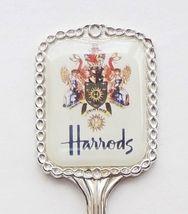 Collector Souvenir Spoon Great Britain UK England London Harrods Coat of... - $14.99