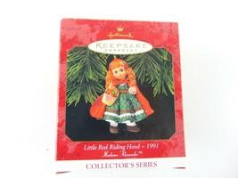 Hallmark Keepsake Christmas Ornament 1991 Little Red Riding Hood - £11.87 GBP