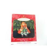 Hallmark Keepsake Christmas Ornament 1991 Little Red Riding Hood - $15.83