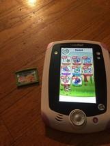 LeapFrog LeapPad Learning System Tablet Purple w. Barbie Malibu Mysterie... - $30.86
