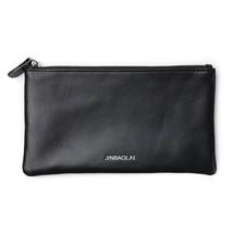 Men's Genuine Leather Long Bifold Wallet Cellphone Bag Card Holder - $24.54