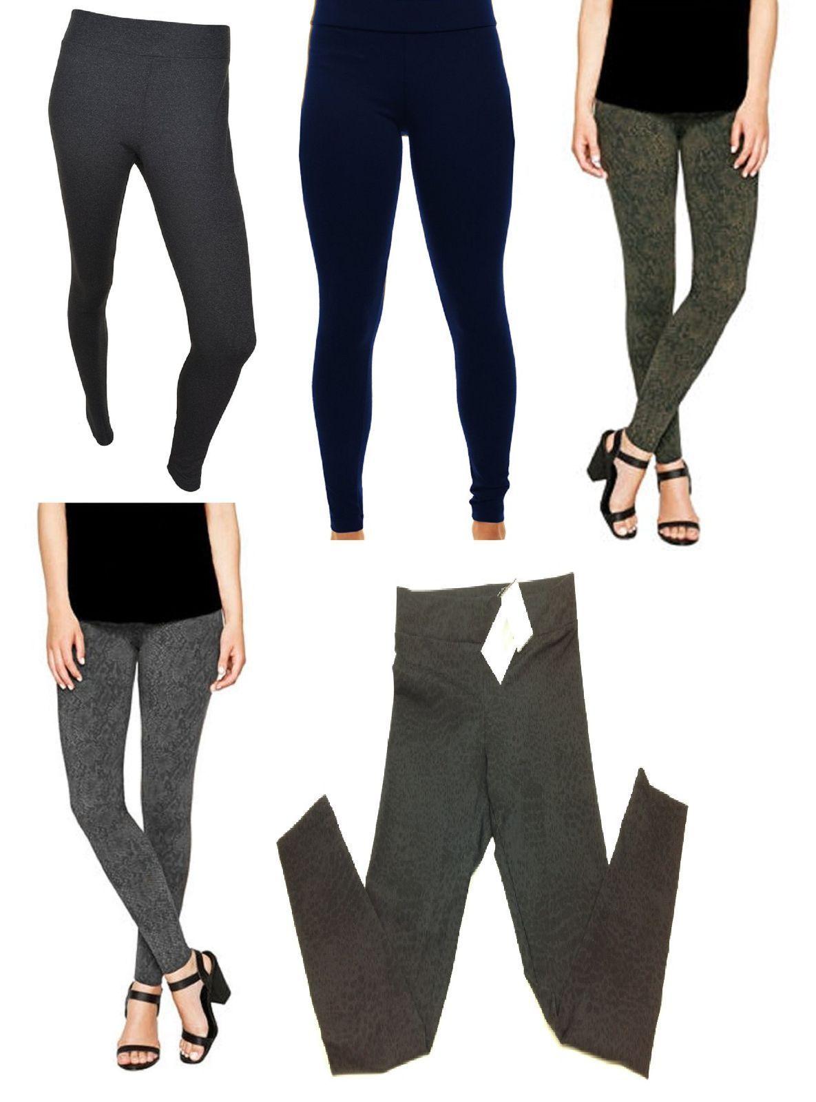 Matty M Ladies' Legging, Thicker Material, Wide Waist Band