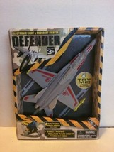 Electronic Light & Sound Jet Fighter Defender Brand New - $6.92