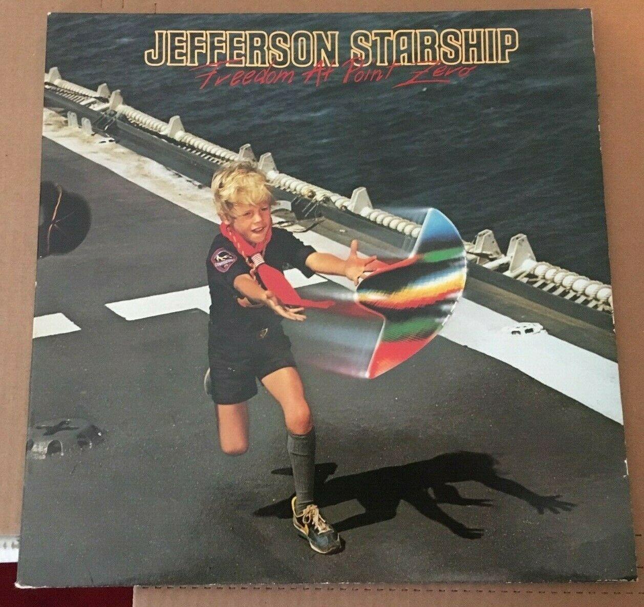 Jefferson Starship Freedom At Point Zero Vinyl Record Album BZL1-3452 1979