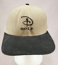 Disney Resorts Golf Tee Strapback Baseball Cap Hat NEW - $14.50