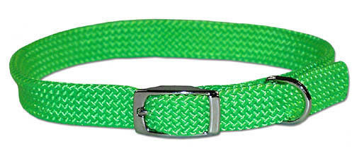 "Canine Rainboe 3/8"" Adjustable Dog or Cat Collar 12"" Long 4 Colors Available"