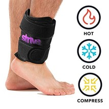 Ankle Hot and Cold Compression Wrap by Strive   Reusable Gel Pack Therapy for Pa - $42.67