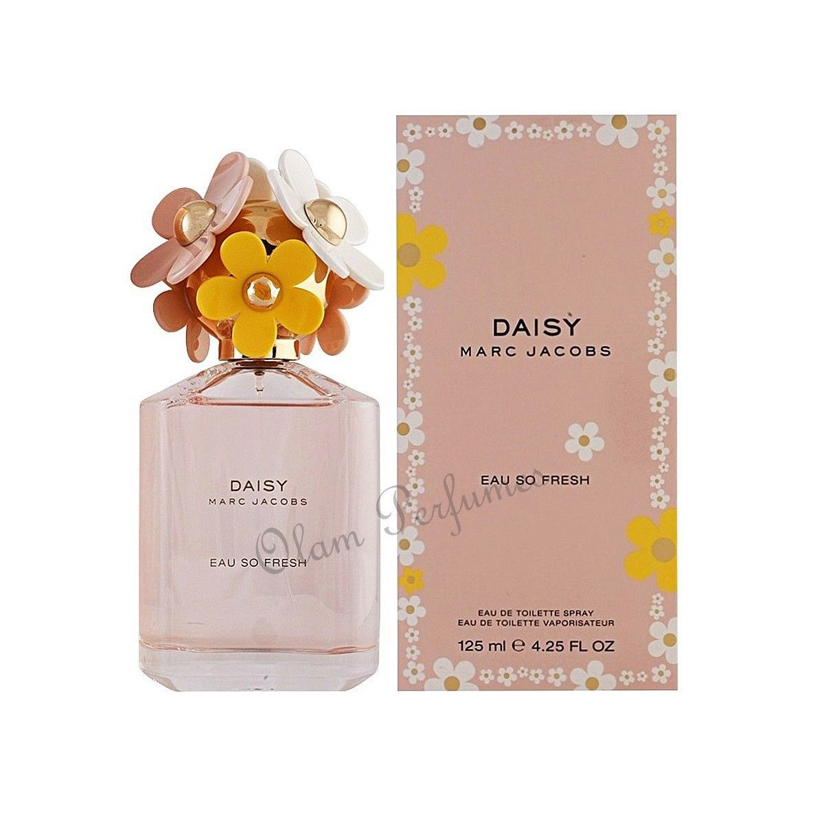 Primary image for Marc Jacobs Daisy Eau So Fresh Eau De Toilette Spray 4.2oz 125ml For Women