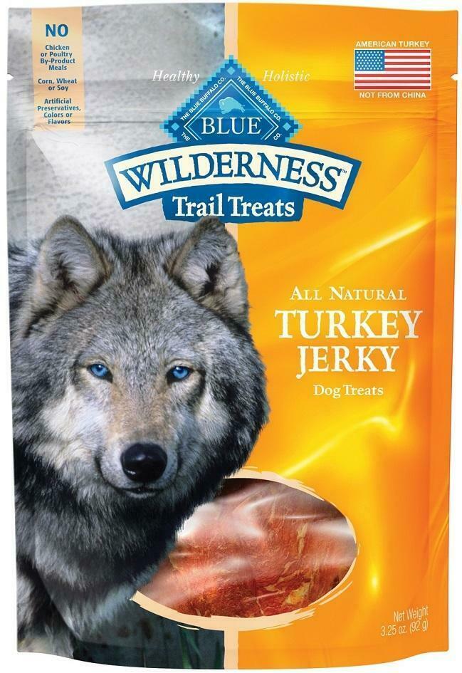 Blue Buffalo Wilderness Grain Free Trail Treats Turkey Jerky for Dogs - $19.99