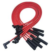 SBC 327 350 SMALL CAP DISTRIBUTOR COIL + 8mm SPARK PLUG WIRES UNDER THE EXHAUST image 6