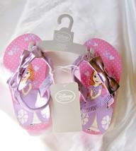 Kids Summer Flip Flops w/Ankle Straps Kids Pink Disney Store Item Sz. 7-... - $12.82