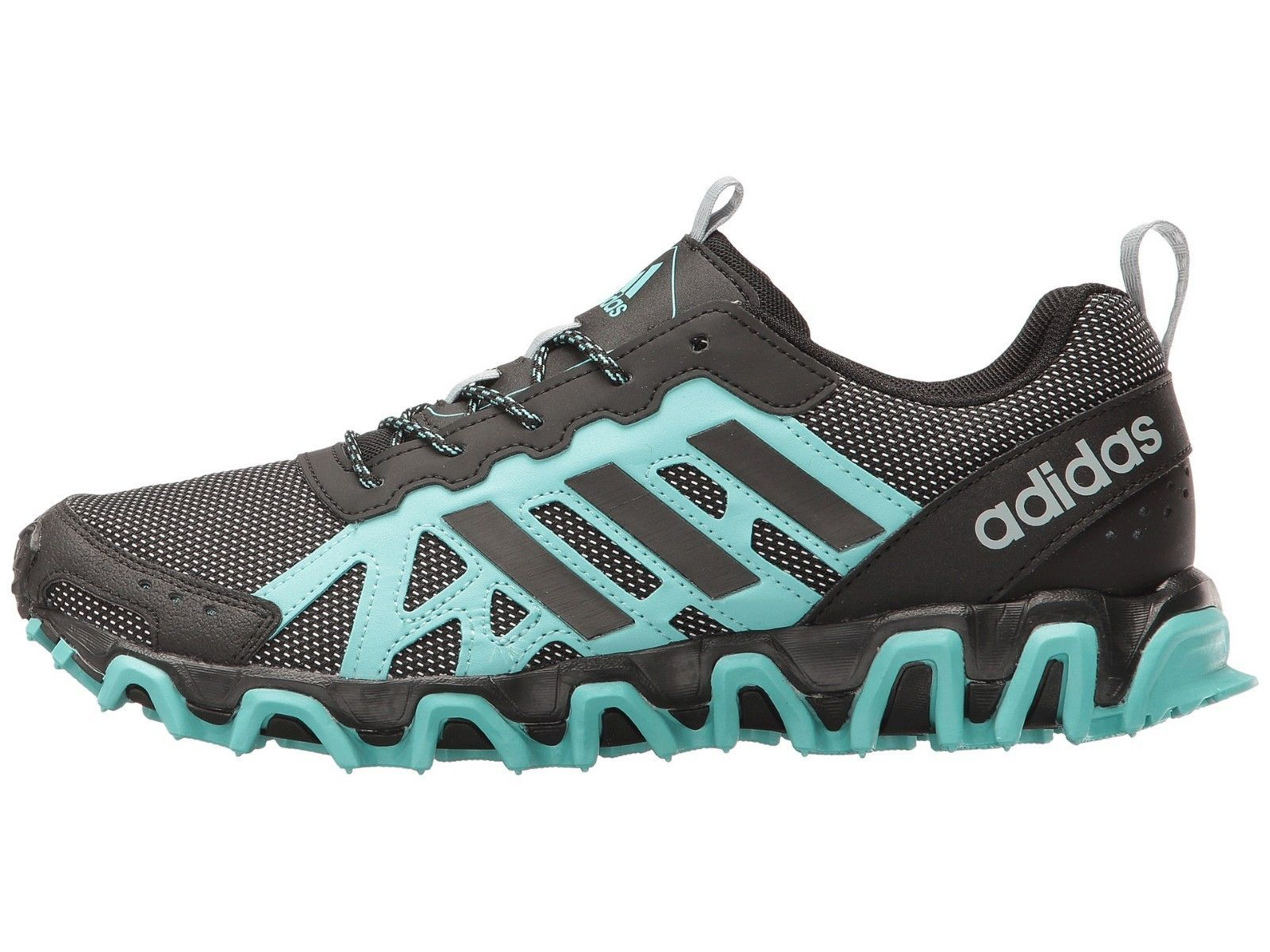 Women's adidas Incision Trail W Running Shoes, S80729 Sizes 6-8 Easy Mint/Black