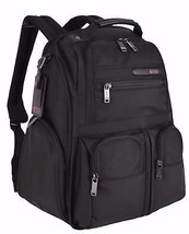 New Tumi 263173 Ballistic Nylon Black Compact Laptop Brief Pack Backpack - $439.00