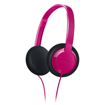 Philips SHK1000PK/28 Kids-On Ear Headphone, Pink - $10.49