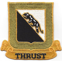 U.S. Army 89th Tank Battalion Military Patch - THRUST - $11.87