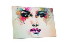 "Pingo World 1222PEBNTRA ""Pop Ocean Blue Eyes"" Gallery Wrapped Canvas Art, 30"" x  - $57.37"