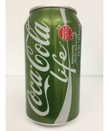 COCA COLA Life EVELYN COKE CAN Green Stevia from Chile - $7.91