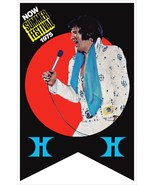 Elvis Presley Las Vegas Hilton Poster Stand-Up Display - Concert Collect... - $15.99