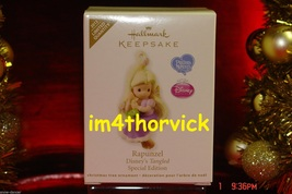 Hallmark 2012 Precious Moments Disney Tangled Rapunzel Special Edition L... - $129.99