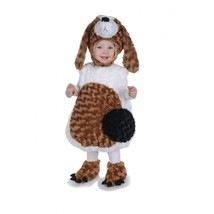 Underwraps Dachshund Bauch Babys Kleinkind Kind Halloween Kostüm 25861 - $31.49