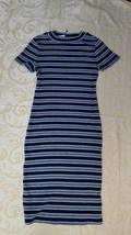 Liz Lange Maternity Dress Sizes XS, S, M, XL NWT Short Sleeve Black Gray - $14.99