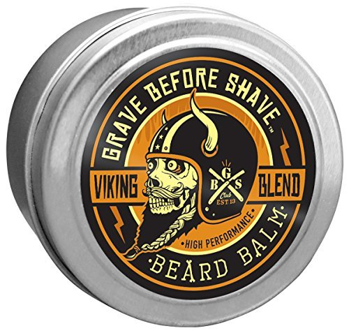 Grave Before Shave Viking Blend Beard Balm 2 ounce