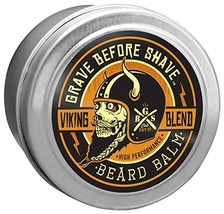 Grave Before Shave Viking Blend Beard Balm 2 ounce image 1