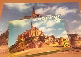 Vintage F.X. Schmid Super Puzzle 1000 - No. 98243 Mont St. Michel image 1